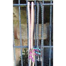 Rênes en corde de 14mm décorées