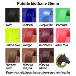 Biothane au mètre Largeur 25mm