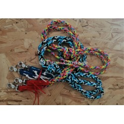 Rênes en corde plate de 12mm
